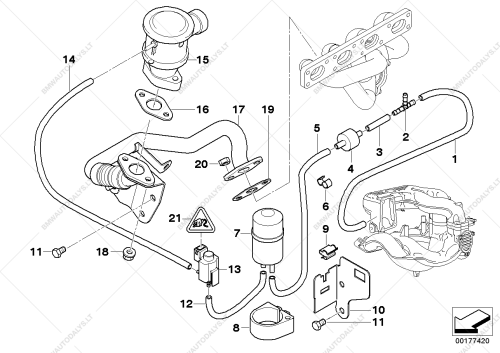 small resolution of bmw e46 vacuum diagram wiring diagram detailed bmw m57 vacuum diagram bmw e46 vacuum diagram