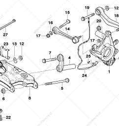 rear axle support wheel suspension for bmw 5 e39 525d sedan ece bmw x5 rear suspension parts diagram on bmw e39 suspension diagram [ 1287 x 910 Pixel ]