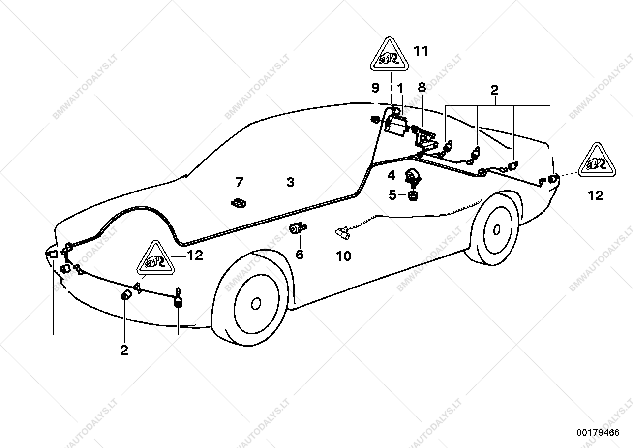 Bmw Wiring Diagrams E70 Auto Electrical Diagram E46 Pdc Images