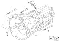 Manual Transmission GS6-37DZ for BMW 3' E90, 320d N47