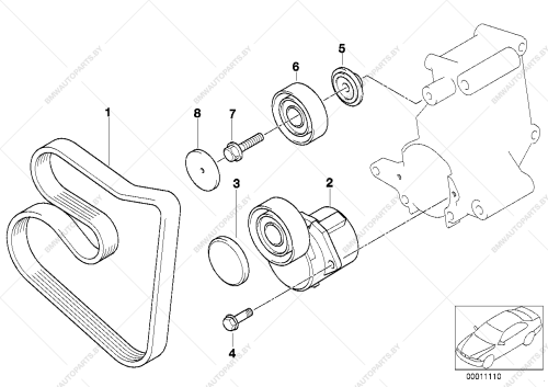 small resolution of parts list is for bmw 3 e36 318is m44 coupe ece 1999 03