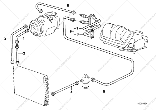 small resolution of parts list is for bmw 3 e30 318i m40 coupe ece 1989