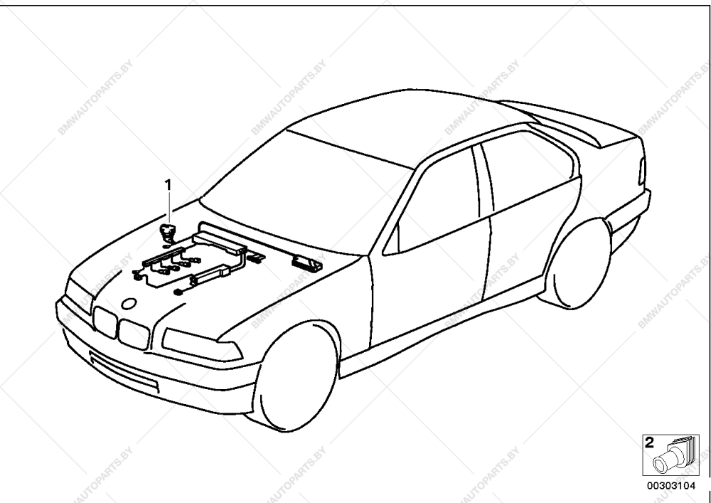 medium resolution of parts list is for bmw 3 e36 316i m43 sedan ece channel php