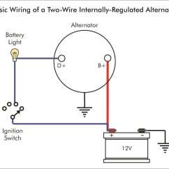 Two Way Wiring Diagram For Toyota Corolla Stereo Troubleshooting An Alternator Warning Light Bmw Car Club