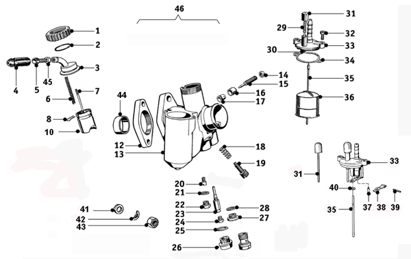 Bmw motorcycle carburetor