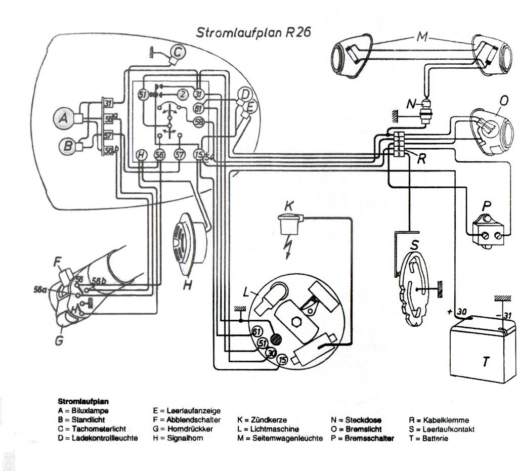 Wondrous Bmw R51 3 Wiring Diagram Wiring Diagram Wiring 101 Cajosaxxcnl