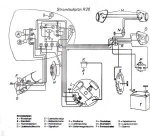 Wiring diagram R26  Salis Salis
