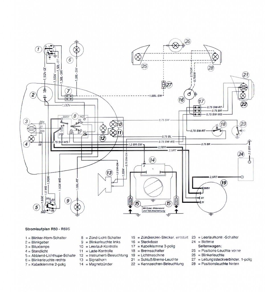 Bmw R75 6 Wiring Diagram, Bmw, Free Engine Image For User