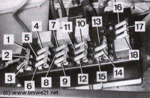 wiring diagram for electric fan 2002 chevy malibu radio e21 fusebox layout   bmwe21.net – jeroen's bmw network