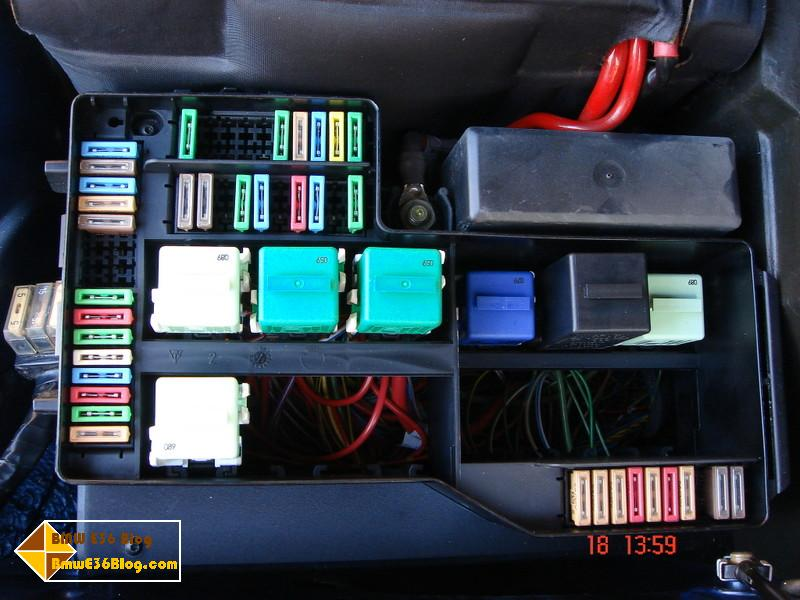 Power Distribution Box Wiring Diagram Of 1991 Bmw 325i Convertible