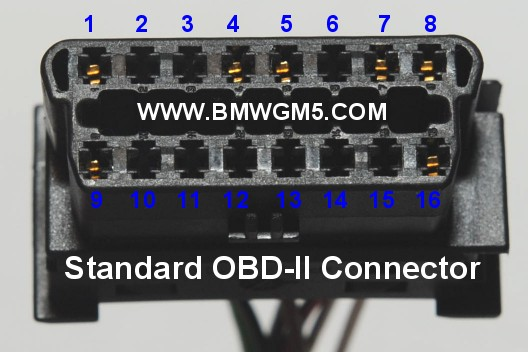 Diagrams Besides Bmw 20 Pin Connector Pinout On Obd2 Connector Pinout