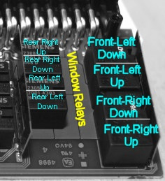 And Bmw Abs Control Module Wiring Diagram Bmw E46 E83 X3 E52 Z8 Gm5 Front Window Relays V23078