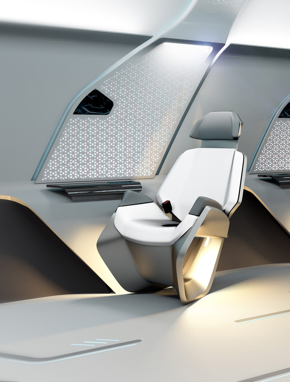 hyperloop one seat close up