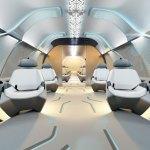 hyperloop seats in capsule
