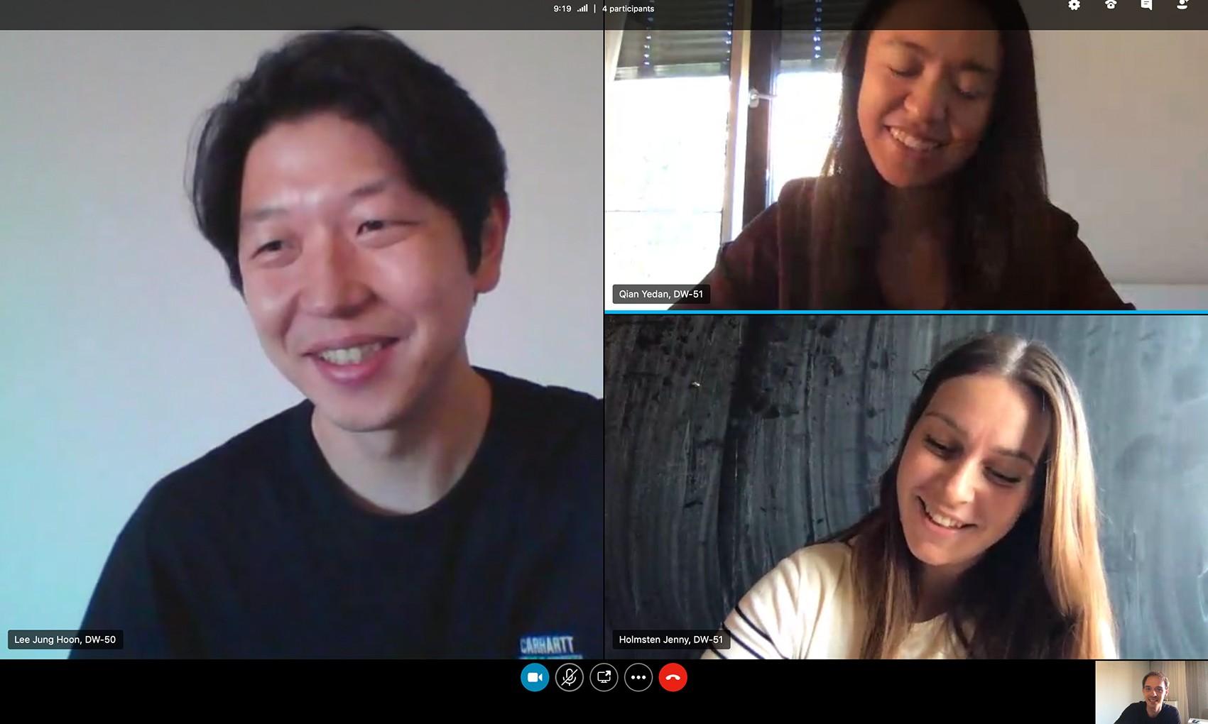 Screenshot of Hackathon Team Collaborating Digitally on Playworks