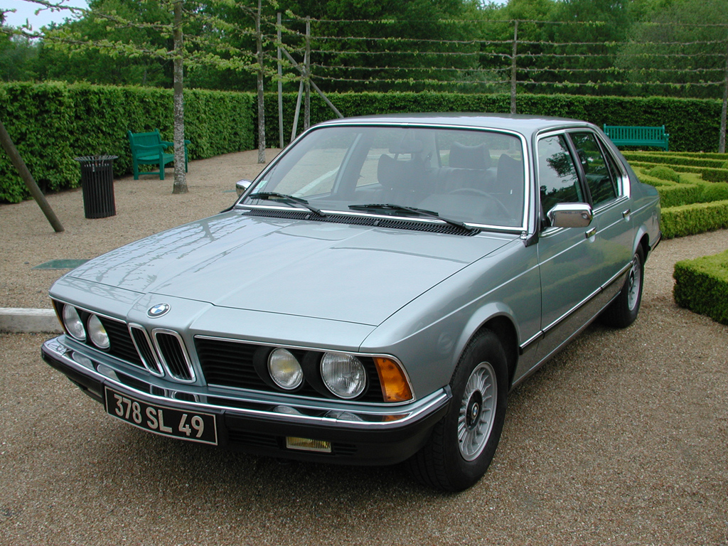 hight resolution of bmw 7 series e23