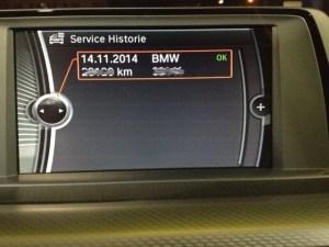 Service Historie BMW