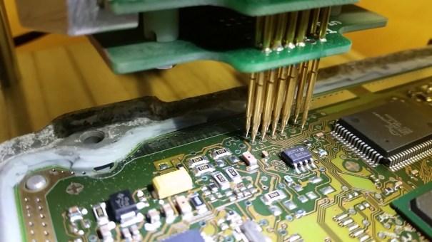 Datentransfer Motorsteuergerät