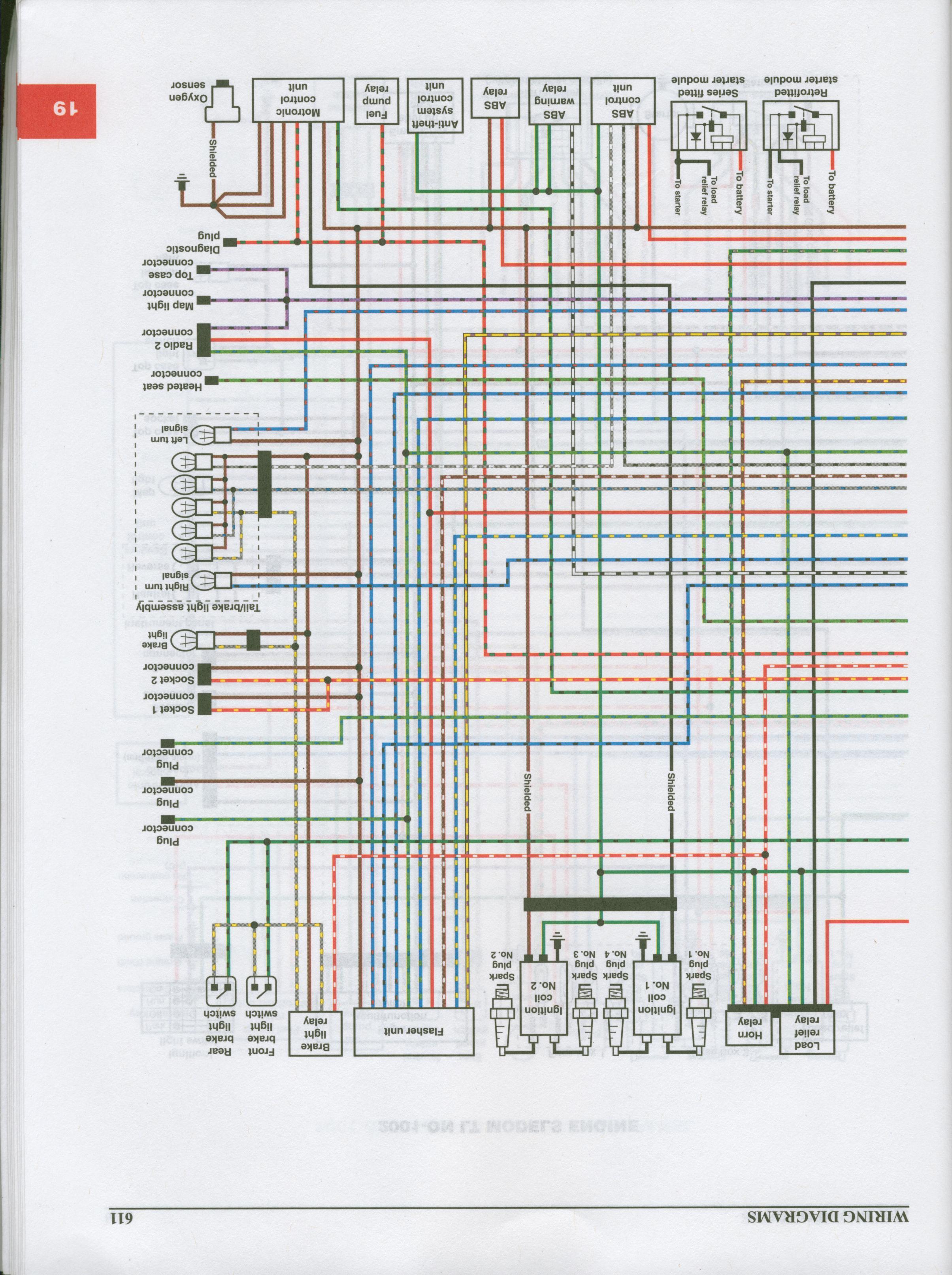Wiring Diagram Bmw K1200lt - custom project wiring diagram on