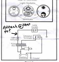 vdo tach wiring diagram usa wiring library mix voltmeter instrument light power source suggestions bmw [ 1570 x 1988 Pixel ]