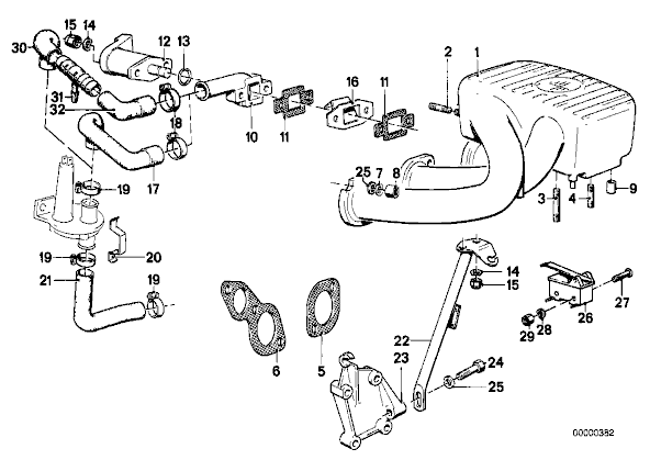2001 Bmw 325i vacuum diagram