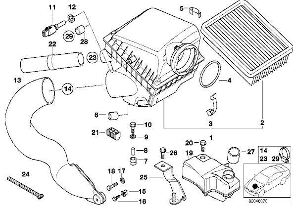 Bmw E36 Air Intake Diagram, Bmw, Free Engine Image For