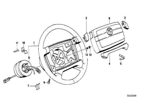 Airbag light on e30. • MyE28.com