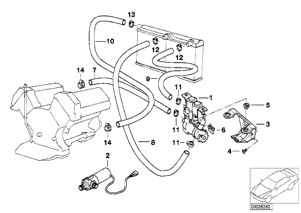 Bmw e38 parts schematics