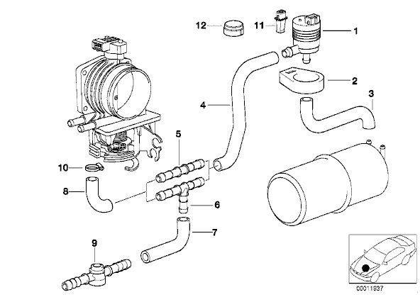 1985 Bmw 325e Vacuum Diagram. Bmw. Auto Wiring Diagram