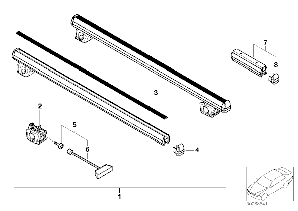 DIY: Thule Touring / Wagon Roof Rack (Ski, Bike, Cargo)