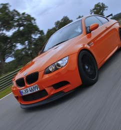 though the m3 crt sedan shared its entire drivetrain and chassis with the e92  [ 1273 x 900 Pixel ]