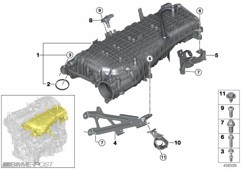 2006 Bmw Engine Diagram Bmw B58 Quali Le Differenze Con N55 Bmwnews