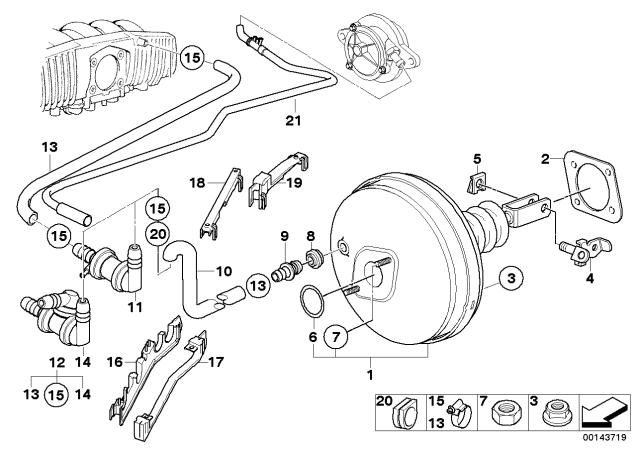34331113652 Genuine BMW T-Connector