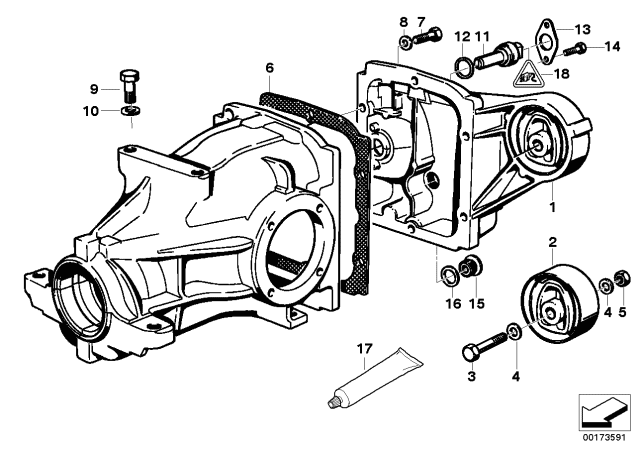 62168355008 Genuine BMW Pulse Generator, Speedometer
