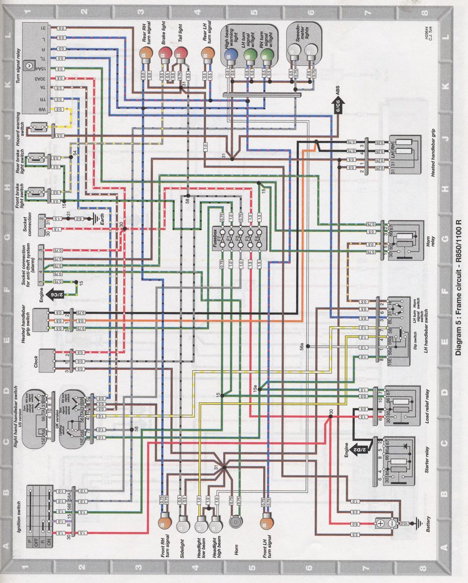 hight resolution of bmw r 1100 wiring diagram wiring diagram bmw r 1100 wiring diagram