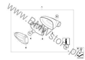 Akcesoria dodatkowe do motocykli BMW K73 (F 800 R) F 800 R