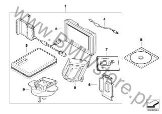 Akcesoria dodatkowe do motocykli BMW K25 (R 1200 GS
