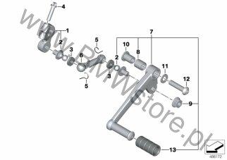Ręczna skrzynia biegów BMW K71 (F 800 S, F 800 ST, F 800