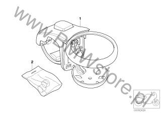 Akcesoria dodatkowe do motocykli BMW K589 (K 1200 RS, K