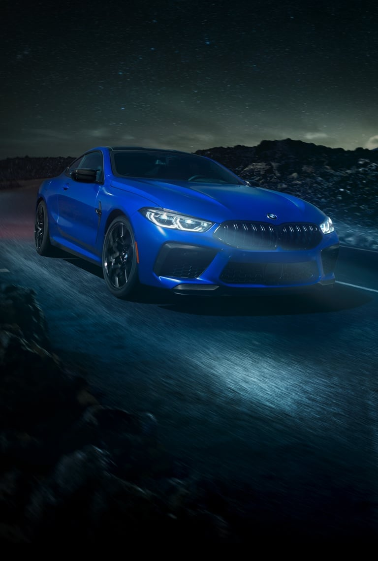 Filled to the brim with exhilarating potential. 2022 Bmw M8 Competition Luxury Sport Coupe