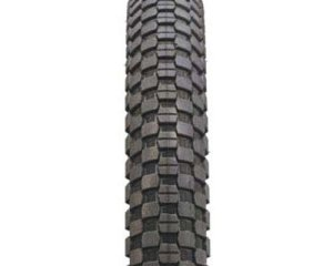 pair KHE MAC1 FLAT 20 x 40mm Folding White Tire