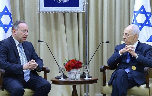 Presidente de Israel recebe Medalha da B'nai B'rith