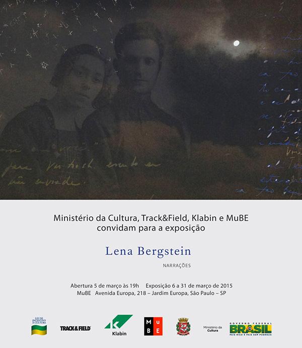 """Exposição """"Narrações"""", de Lena  Bergstein"""