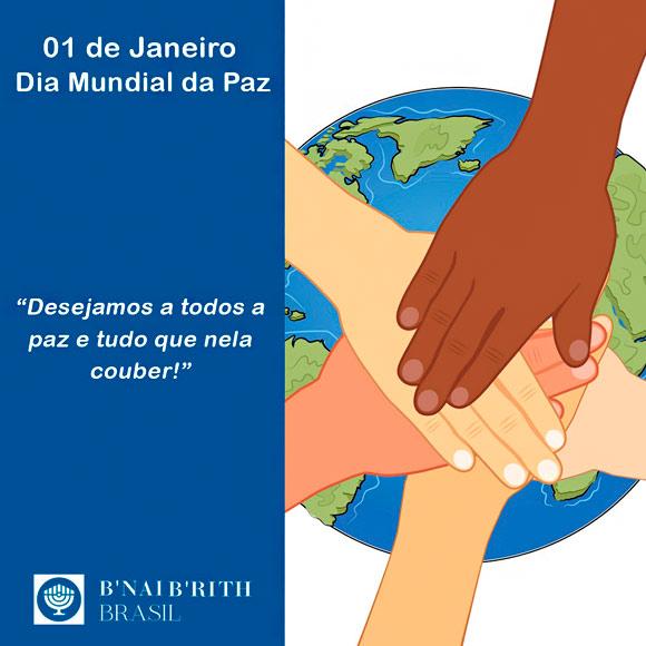 01 de Janeiro - Dia Mundial da Paz