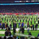 Grambling State University Band on the field