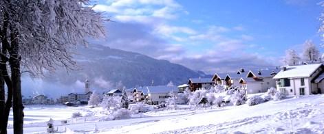 The snowy Laax