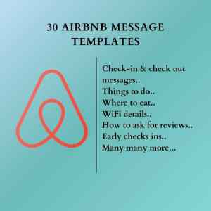 30 Airbnb message templates