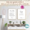 Airbnb printable sign