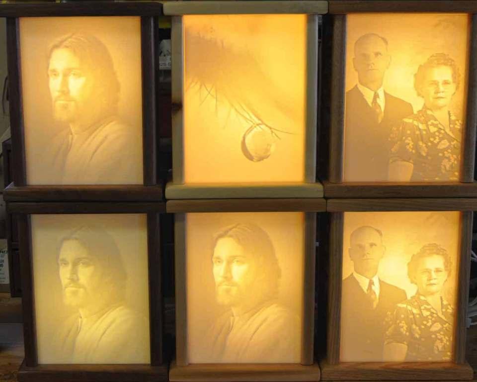 Six Light boxes