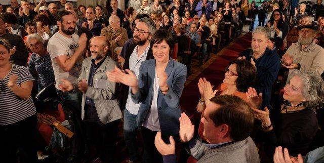 """Ana Pontón: """"Hai partido e imos ganalo para darlle voz a Galiza quitándolle escanos a Vox e Ciudadanos"""""""